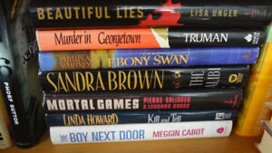 Books, Fiction, Various Genres