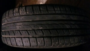 AllSEASON / SUMMER TIRES  ON RIMS 185/65/14 West Island Greater Montréal image 1