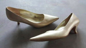 Gold Le Chateau Shoes