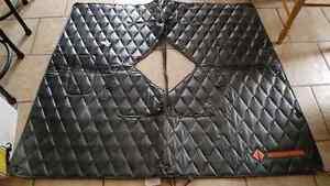 Protecteur radiateur noir / Black Radiator cover