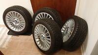 Pirelli 205/50R17 winter / snow tires BMW rims wheels