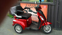 Mobility Tricycle & 4 Wheel 5% Discount offer ends April 18 / 15