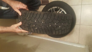 Ford winter tires 19560R15 4 tires