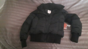 EXTRA SMALL    GIRLS/YOUTH WINTER COAT   NEVER WORN TAGS ON