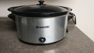 7 qt. Bravetti Slow Cooker, Excellent Condition