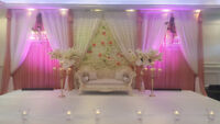 WEDDING/reception/hall/home/Party/car DECOR, flowers