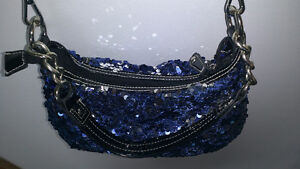 Brand new blue paillette purse Kitchener / Waterloo Kitchener Area image 3