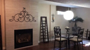 Furnished, All Included, Beautiful full-size basement apartment