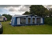 Bailey Pegasus 646, 6 berth touring caravan