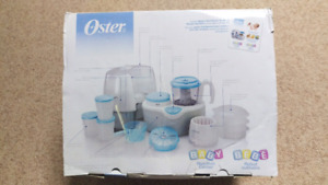 Oster Baby Nutrition Centre Sterilizer Warmer Steamer Processor