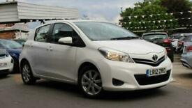 image for 2012 Toyota Yaris 1.33 VVT-i TR M-Drive S 5dr Hatchback Petrol Automatic