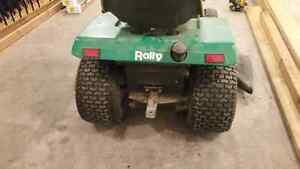 """1988 rally lawn tractor 44"""" deck"""