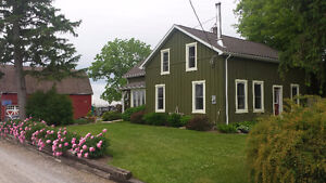 HOBBY FARM with 5.5 acres and completely renovated house