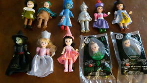 "Set of Madame Alexander ""Wizard of Oz"" Dolls from Mcdonald's2008"