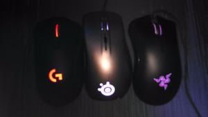 E-sports Gaming Mice and Keyboard For Sale