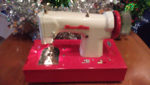 50s Sew-Ette Toy Sewing Machine. Works. Batteries Included.