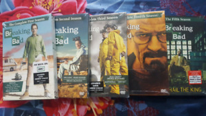 Breaking Bad DVD set - BRAND NEW (Original packaging)