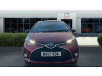 2017 Toyota Yaris 1.33 VVT-i Design 5dr Petrol Hatchback Hatchback Petrol Manual