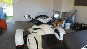 Spyder Can Am RS 2011