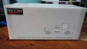 Canadian Tire SpecCast 1953 Willys Jeep Stake Bed Die Cast