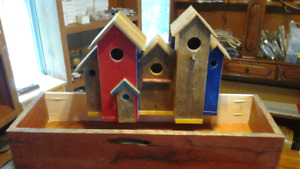 Planter box / bird houses