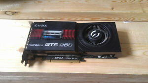 EVGA GTS 250 1GB **REDUCED PRICE**