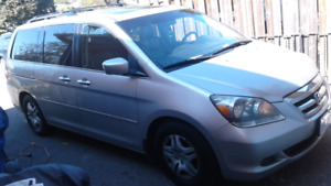 2007 HONDA Odyssey, Leather, Sunroof, 8 Seater