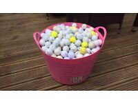 Est 1000 new and used golf balls various brands