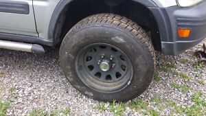 15x8 jeep rims with tires
