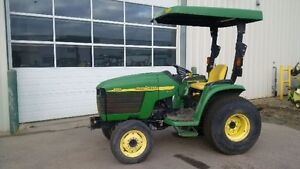 John Deere 4210 Compact Tractor with Canopy