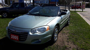 2005 Chrysler Sebring Convertible BLOWOUT!!