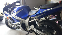 2002 GSXR 600 for sale.