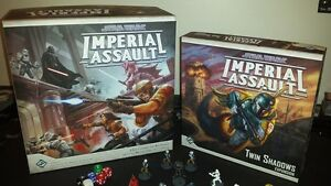 Star Wars Imperial Assault +expansions+painted minis