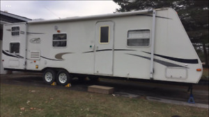 31 ft camping trailer