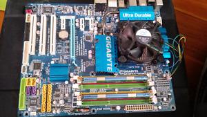 Motherboard, Q8200 processor & 8 GB DDR2 RAM