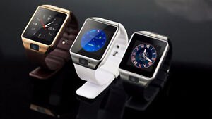BRAND NEW! DZ09 SMARTWATCH - COMPATIBLE WITH IPHONE OR ANDROID