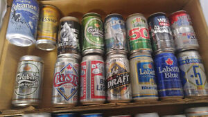 """BEER Cans """"full"""" collectible  cans for $30.00 FIRM London Ontario image 3"""