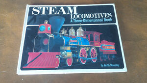 Steam Locomotives, 3-Dimensional Pop-Up Book