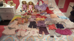 American girl dolls and accessories for sale