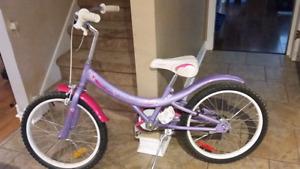 """Supercycle Cream Soda 20"""" girls bike"""