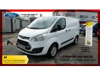 2017/67 FORD TRANSIT 2.0L TDCi 130ps LOW ROOF TREND NO VATWHITE CHEAP DIESEL VAN