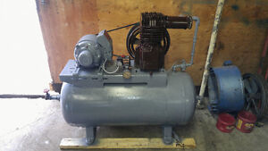 Air compressor 220 volt single phase reconditioned