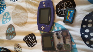 Gameboy color and gameboy advance