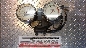 Kawasaki KZ1000 gauges (police pursuit bike)
