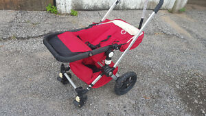 Bugaboo Frog 2009 Complete Stroller with Bunting Bag - Red