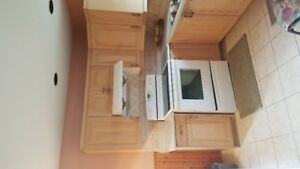 Used  High quality Oak Kitchen Cabinets