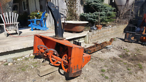 KUBOTA snow blower NEW PRICE