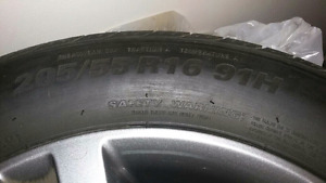 4 like new tires
