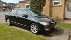 image for 2008 Honda Civic 1.4 i-Dsi EX 4dr IMA CVT Auto SALOON Petrol/Electric Hybrid Aut