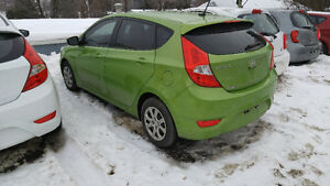 2014 HYUNDAI ACCENT GL , AUTOMATIQUE , 52 000 KM , 7400 $